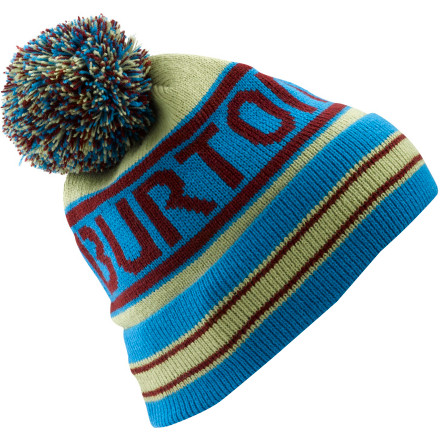 Snowboard When you're chilling like a dope on the slope pull on the Burton Trope. Skully fit is the bit, and the pom is tit. - $24.95