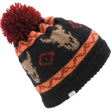 Ya, it gets pretty cold up here, you betcha. That's why you put on the Coal Dakota Pom Beanie before you go out to catch some muskies. - $20.97