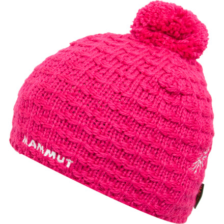 The Mammut Pommel Beanie uses a mix of wool and polyester fleece to make sure your noggin stays warm whether you're on a windy ridge or a long chairlift ride. - $24.95
