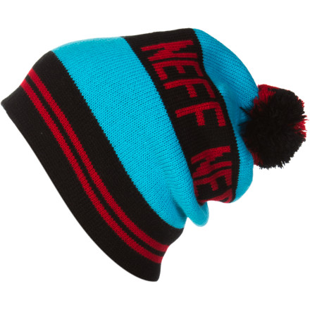 Entertainment The Neff Classic Beanie speaks for itself--stripes, logo, warm yarn, and decorative pom-pom. Use it to top your fashion-forward riding getup with a touch of old-school tradition. - $23.95
