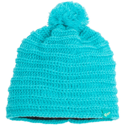 Like a beacon in the night, the Stoic Women's Inora Beanie makes it easy for your friends to spot you in the storm-day lift line. A toasty-warm inner lining fends off the cold so your ears won't freeze, and breathable, blended merino fibers add softness and supreme comfort. Every mountain gal needs a go-to pom beanie like the Inora. - $10.00