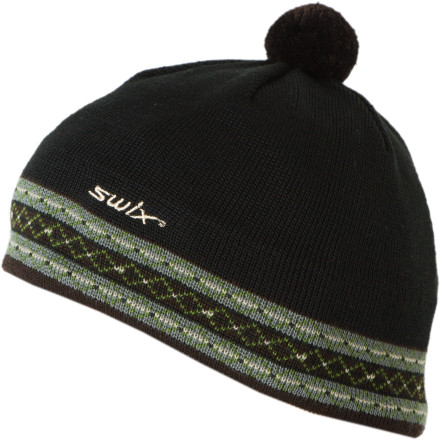 Nothing says winter like a ball of fuzz on top of your beanie, and the Swix Erland Pom Beanie definitely fits the bill. Made with a blend of ultra-warm, odor-resisting, non-itchy merino wool and durable acrylic, the Erland is like a warm hug for your noggin. - $11.58