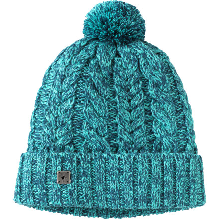 Ski Whether you'''re celebrity-watching in Aspen, going cowboy in Jackson, or chilling in Park City, the Smartwool Ski Town Beanie fits right in. This comfy merino wool beanie features a cable-knit design with a pom on top for that classic winter hat look. - $39.95