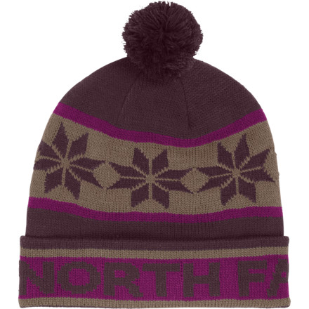 Ski The North Face Ski Tuke III Beanie keeps things lighthearted while your schuss at the local resort, romp through the snow with your fam, or head into the backcountry for another midday dawn patrol. - $19.47
