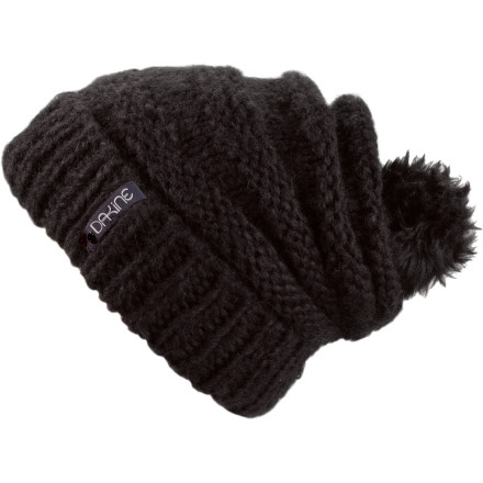 Ski The Dakine Scruntch Beanie keeps you plenty warm and looks cute as a baby unicorn playing tag with a fawn... - $24.95
