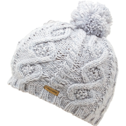 Ski What' You overslept and don't have time to get all dolled up' It's a ski movie premiere for crying out loud. Just toss on the comfy Discrete Women's Splay Pom Beanie and call it good. - $20.97