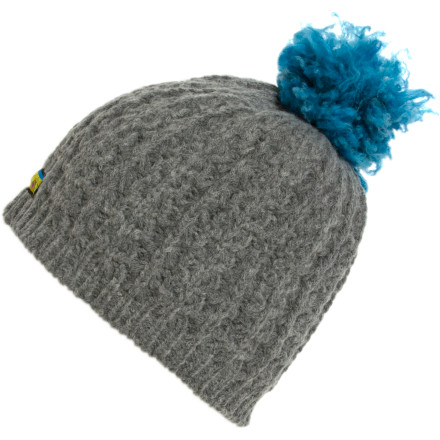 Wearing the Dohm Icebox USA Women's Eco Pom Beanie on your head reminds you to recycle your newspaper and dump your orange peels into the compost bin. Its au natural merino wool fabric loves to be pressed against your naturally-colored hair, and it keeps your head and ears super warm in chilly temps. - $13.18