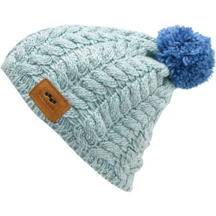 Snowboard Cover your manky dreads with the Foursquare Mop Top Pom Beanie. The Mop top is perfect for those times when you don't want the world to know what a stinky hippie you've turned out to be. - $16.76