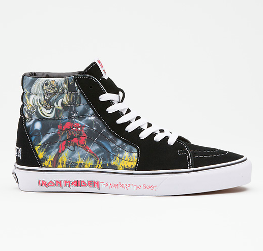 Skateboard Kicking off Day 10 of our 12 Days of Vans Giveaways with a pair of Iron Maiden Sk8Hi's. Enter to win [on your computer, sorry no mobile devices] at http://ow.ly/g6XP6