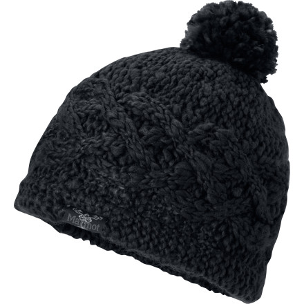 Lined with microfleece for ultimate comfort, the Marmot Women's Chunky Pom Hat keeps your head warm and keeps you styling even on those bitter cold days. A playful pom adorns this snowball-ready piece. - $24.47