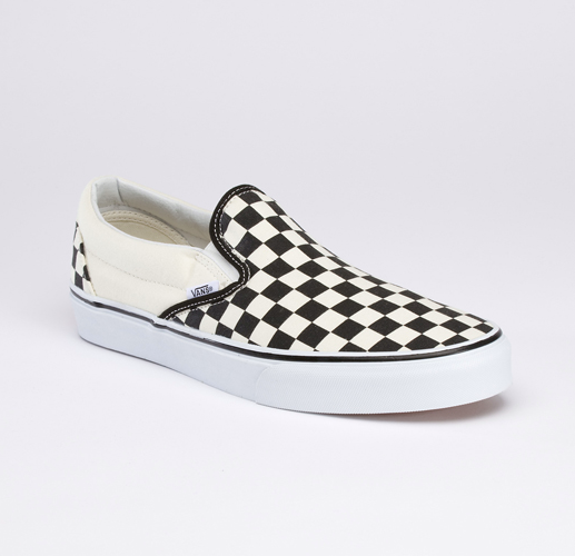 Entertainment A timeless pair of Checkerboard Print Slip-On's is the prized piece of Day 7 in our 12 Days of Vans Giveaways. Enter to win at http://ow.ly/g6XP6