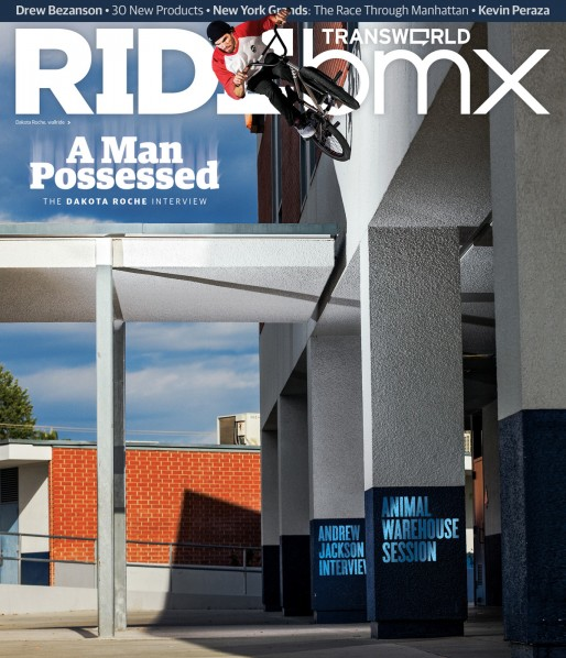 BMX Great month for Dakota Roche. He has the ender part in CULT BMX's 'Talk is Cheap' vid and the cover of RIDE bmx with a man-sized wall ride drop. Whooo! http://vans.com/bmx