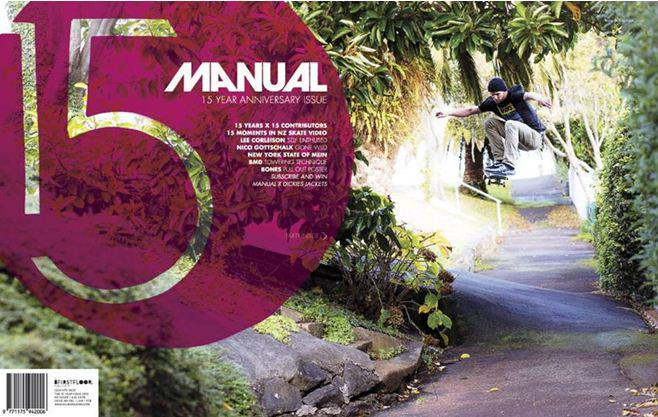 Entertainment Check it out, Manual Magazine have released their 15th anniversary issue. Vans team rider Nico Gottschalk made the cover. Rad interview inside. Order your copy here http://shop.manualmagazine.com/collections/frontpage/products/manual-48-pre-order