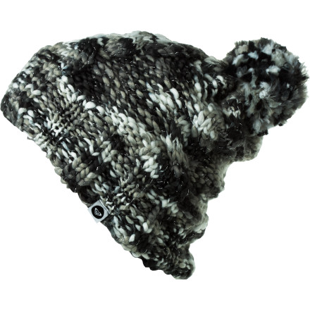 Surf The Roxy Say It Beanie gives you a homespun look that will make everyone think that your grandma loves you enough to make you a hat (even though she doesn't really love you at all). - $16.80