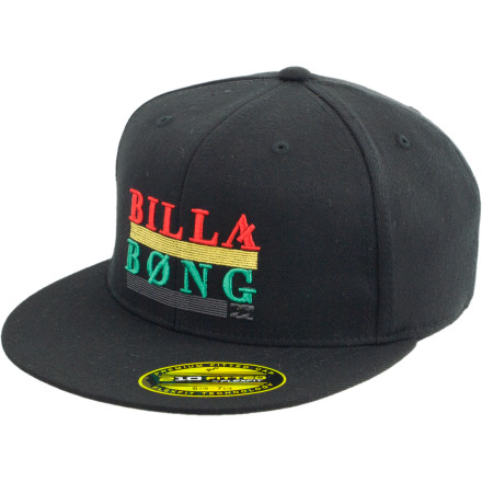 Surf Achieve a higher ranking in life with the Billabong Corporal 210 Flexfit Hat. Going to school also helps. - $13.98