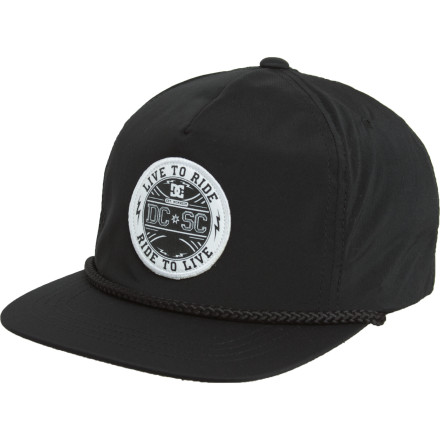 Like you, the DC Valsonite Hat follows a simple but strict mantra: live to ride, ride to live. - $9.60