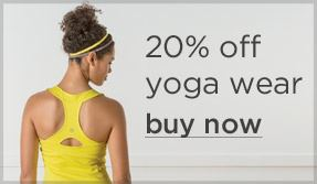 Fitness Hit the studio in style in 2013! Take 20% off Yoga Wear http://bit.ly/PJCUuF