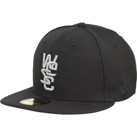 Add the WeSC 59fifty Overlay Solid Wool Hat to your vast collection, just don't be too surprised when your other lids commit haticide out of envy. - $19.78