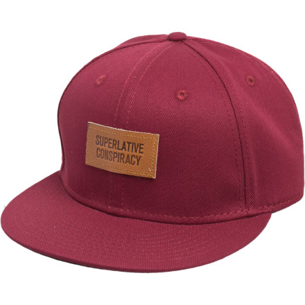 Throw on the WeSC SC Snapback Hat and head to the local jazz club to convince everyone you're hip with your groovy drink orders and complicated shoes. - $19.46