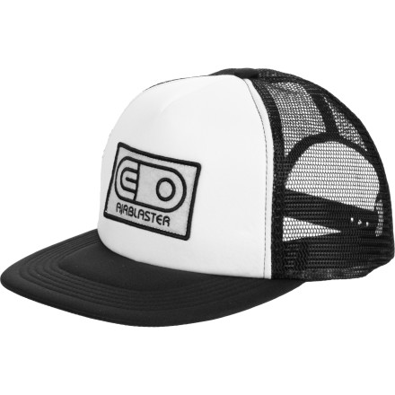 Breaker breaker one-nine, can we get a radio check on the Airblaster Trucker Hat' 10-4 Good buddy! - $13.97