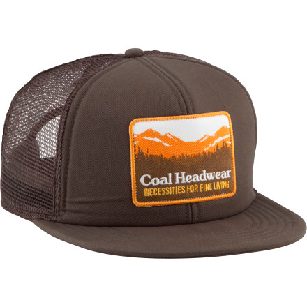 The Coal Hauler Trucker Hat tops your disguise as a real trucker when you and your team organize a strike against the oil companies by commandeering full trucks of crude and pumping the contents back into the Earth. It's not as easy as it sounds, because even though this mesh hat keeps you cool on the drive, your stunt takes you to an abandoned well in west Texas, where everything is bigger. - $15.96