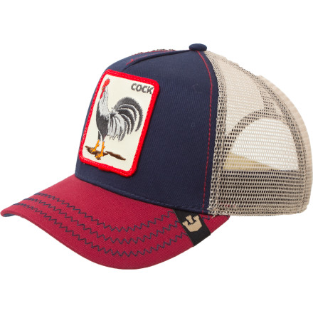 Skateboard Whether you're writing the next great novel on socialist utopia or just heading out to get your flirt on, the Goorin Brothers Animal Farm Trucker Hat keeps it casual. This classic trucker comes complete with a cougar patch to let all the older ladies know that you have a fond appreciation for experience. - $24.95