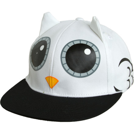 Skateboard The Neff Hootie Trucker Hat grew up in the projects, so it knows to holler nice and loud when it sees the laws creepin' around. - $10.38