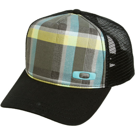 Entertainment Do people call you Big Dave' Are you on familiar terms with a server on I-80' If so, you may wish to accessorize your rig with the Oakley Gas Can Trucker Hat. This comfortable trucker-style hat looks great with your Oakley Gas Can sunglasses. - $25.00