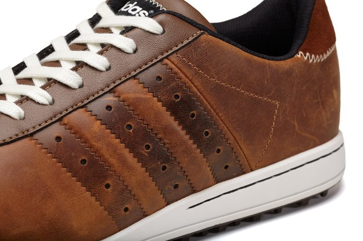 Golf adicross II in Tan Brown / Black / Scout Metallic