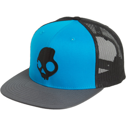 The Skullcandy SkullDayLong Standard Trucker Hat is for the standard hood-rat, skater, surfer, snowboarder, or any kid hoping to, one day, drive a truck. - $11.97