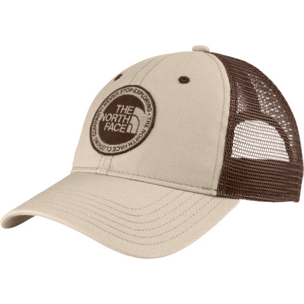 Camp and Hike Only a certain kind of person would understand why it's appealing to drive hundreds of miles to sleep in the woods. That person would also probably wear The North Face Outdoor Trucker Hat while they drive, hike, and hang out at camp. - $27.95