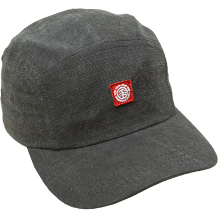 Skateboard The Element Flyer Hat isn't going to get you picked out of a crowd, but then again, that's the point of being subtle. The Flyer is made from 100% cotton and is perfect for keeping the summer sun from burning important parts of your noggin. - $14.96