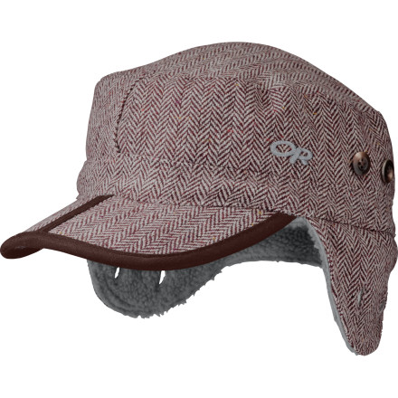 Panning for gold is no picnic, but the fleece-lined Outdoor Research Yukon Hat will keep your head warm while you scour the Tombstone Mountains for the mother lode. Earflaps snap to the hat when not needed and drop down to prevent earsicles. - $22.77