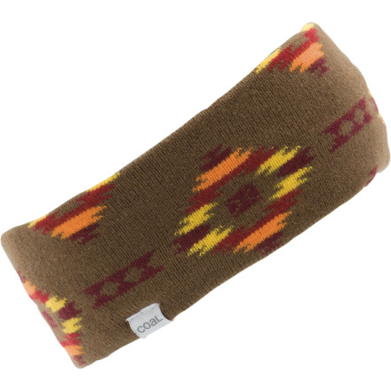 Ever since you agreed to that sketchy telepathy experiment, your frontal lobe has felt a bit cold. Fix the chill with Coal's Taos Headband. - $10.47