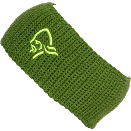 Fulfill your lifelong dream of wearing a Norseman's head with the Norrona /29 Logo Headband. - $31.90