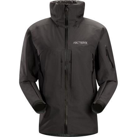Ski Whether you're slaying the steeps in or out of the resort, the Arc'teryx Vertical Jacket keeps you comfortable and dry day after day, season after season. Gore-Tex Pro Shell construction and e3D patterning combine weatherproofing and comfort so you can enjoy each waist-deep lap. - $329.42