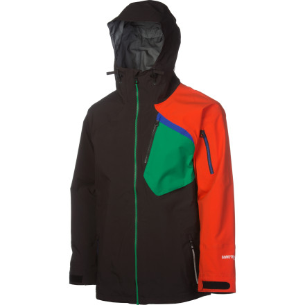 Ski Despite coming equipped with every essential, the Armada Shifter Gore-Tex Pro Jacket is light, smooth, and bombproof. Seal yourself in, crank the volume, and go sonic. - $302.47