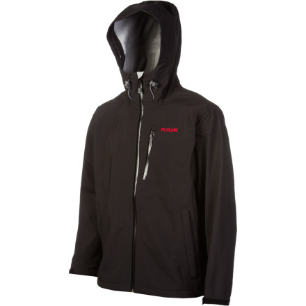 Ski Get storm protection, light insulation, and a comfortable fit with FlyLow Gears Higgins Jacket. The Higgins blends softshell and hardshell technologies to arrive at technical shell that can handle a day of backcountry steeps just as well as in-bounds charging. - $181.97