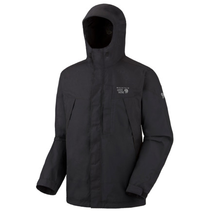 Ski Mountain Hardwear knows you're not going to be just standing around once you get outside to battle the elements. That's why it made the Men's Exposure Parka with its Dry.Q Elite system, which offers exceptional breathability in addition to waterproof protection from the stormy weather. - $148.47