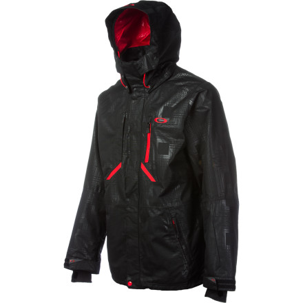 Ski Keep moving all season with the Oakley Mobility Shell Jacket. The jacket fabric's 10K-rated waterproofing and breathability keep you dry in powder, and plenty of ventilation lets you dump heat when you're hiking the pipe or the backcountry. - $175.00