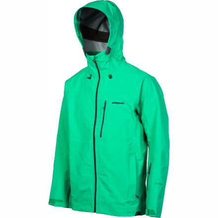 Ski The three-layer Gore-Tex construction of the Patagonia Mens Primo Jacket gives you guaranteed waterproof and breathable protection for the deepest, sickest days of winter. This streamlined shell features clean looks and essential winter features like a the two-way adjustable with a laminated visor that ensures you can see your lines in the harshest of conditions. - $356.85