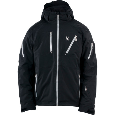 Ski The combination of Primaloft Eco synthetic insulation and Spyder's proprietary OSMO fabric, which is 20K waterproof and boasts an incredible 30,000 g/m breathability rating puts the Orbiter Jacket in very lofty company in the world of ski jackets. - $454.97