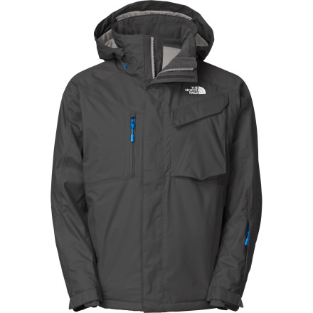 Ski Face it, you're a powder addict. There's no shame in that, and as a matter of fact, The North Face Maineline Jacket is perfectly happy to enable your condition. Designed with a double-layered HyVent membrane and padded with Heatseaker Eco insulation, the Maineline will keep your core warm and dry while you seek out bigger highs. - $153.97