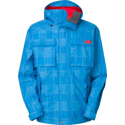 Ski The North Face Aiki Jacket has become an instant favorite among freeriders and park rats alike because of its stylish plaid print, its waterproof breathable HyVent shell material, and its gaggle of go-to features that make every day on the mountain a little better, no matter what the temperature. - $136.92