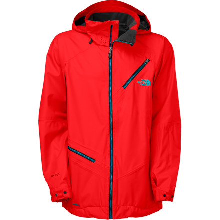 Ski The stylish Cymbiant Jacket from The North Face combines all-day riding comfort with a host of technical features to equip riders with the performance they need to take their skiing or snowboarding to the next level. Innovative FlashDry technology allows moisture to escape in both liquid and vapor form, dramatically improving dry-times and over-all comfort while still providing a fully waterproof exterior. Any way you look at it, the Cymbiant Jacket is a win-win situation. - $219.42