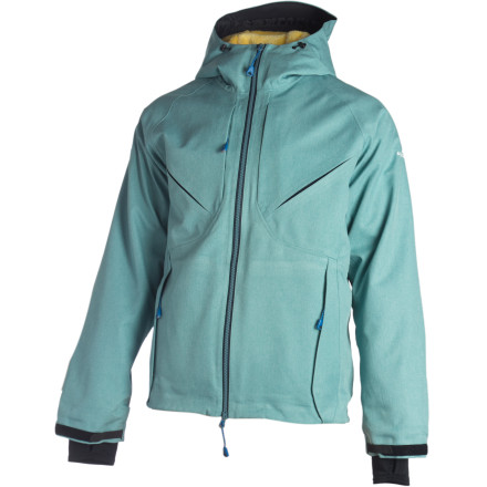 Ski The ridge was steep and angry that day, and the storm raged like a ferocious beast. But, thanks to its waterproof breathable eVent fabric, your Westcomb Flow FX Hooded Jacket helped you to brave the tumultuous ordeal and slay the sickest line you've ever skied. - $357.47