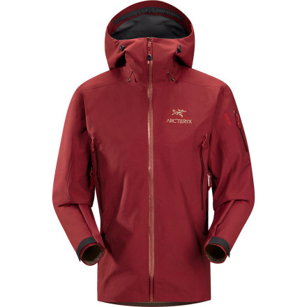 Climbing In addition to waterproof breathable Gore-Tex Pro material, Arc'teryx gave the Men's Theta SV Jacket an extra-long cut to provide even more protection in horrendous weather. Plenty of thoughtful design features help make the jacket your shelter from the storm on any alpine climb or ski tour. - $357.47