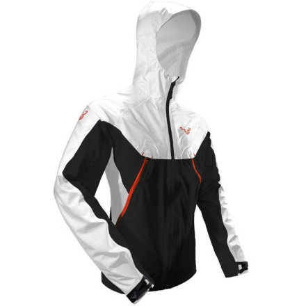 Fitness The Dynafit Men's Aphex Powertex Jacket is about as light, waterproof, breathable, and free-moving as a running and biking shell gets. Zip up the Aphex and don the hood before hitting start on the chronograph and altimeter on your watch. - $249.95
