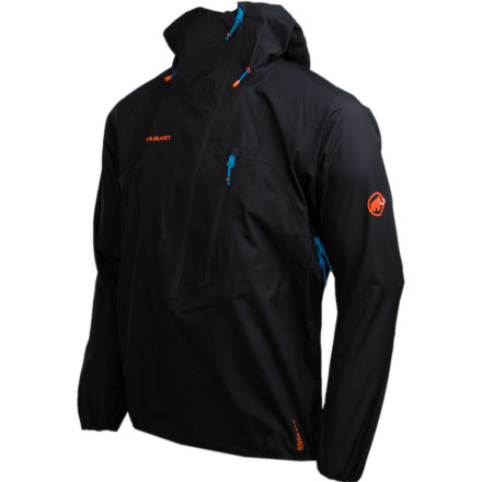 Fast-paced climbs call for the Mammut Felsturm Half-Zip Jacket. Instead of smothering you with stuffy, heavy fabric, the Felsturm's Gore-Tex Active Shell construction keeps things light and breathable. - $224.98
