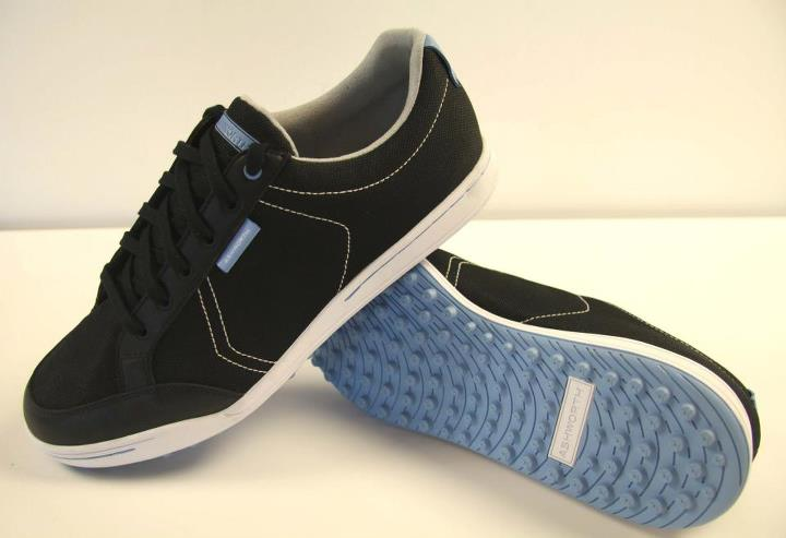 Golf Black / Black/ Columbia Blue